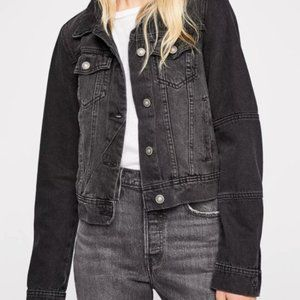 Free People Rumors Denim Jacket.  XS, L